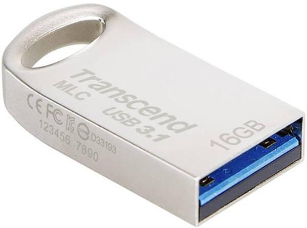 Памет - Transcend 16GB JETFLASH 720, Silver