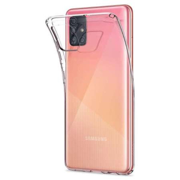 Калъф Spigen Liquid Crystal Galaxy A51 Crystal Clear
