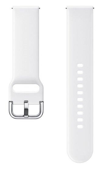 Силиконова кайшка за Samsung Galaxy Watch Active Sport Strap White