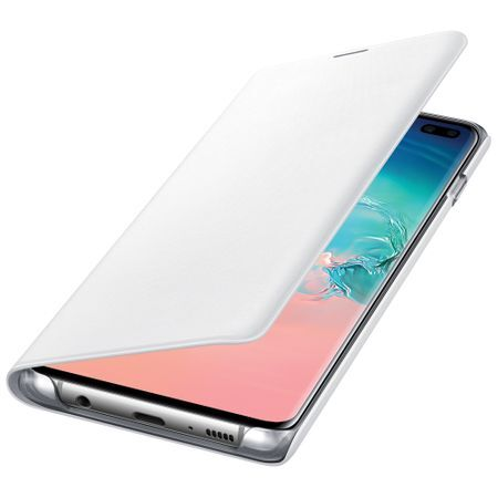 Калъф от Samsung Galaxy S10 LED Back Cover - White