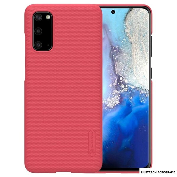 Nillkin Super Frosted Back Cover for Samsung Galaxy S20+ Red