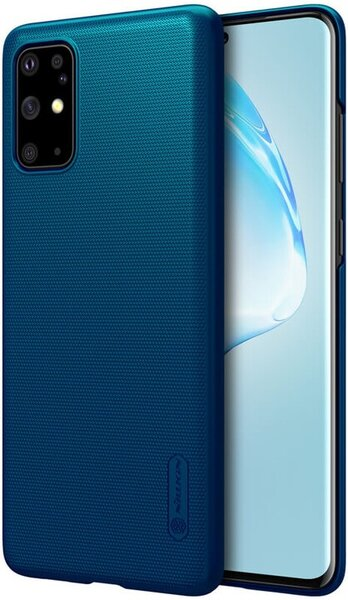 Nillkin Super Frosted Back Cover for Samsung Galaxy S20+ Peacock Blue