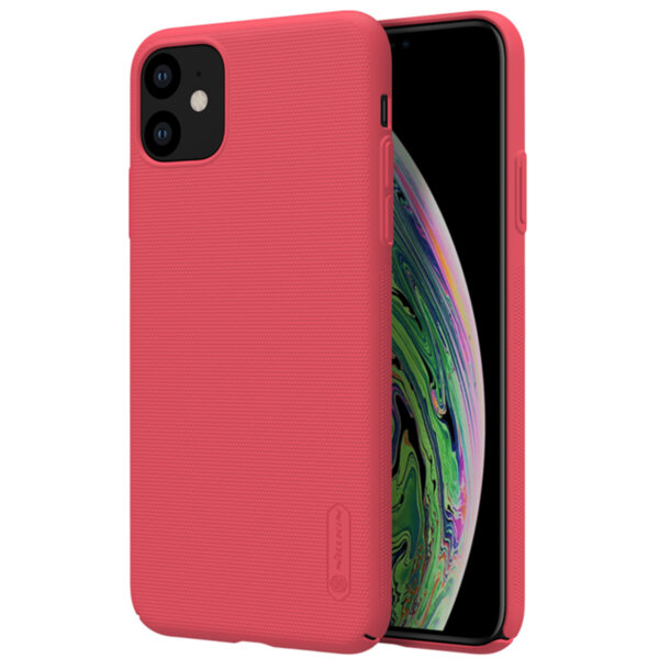 Nillkin Super Frosted Back Cover for iPhone 11 Red