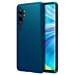 Nillkin Super Frosted Back Cover for Xiaomi Note 10 Pro Peacock Blue