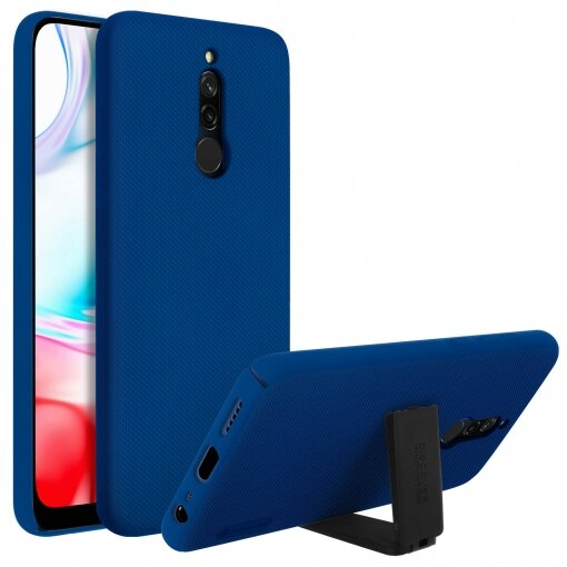 Nillkin Super Frosted Back Cover for Xiaomi Redmi 8 Peacock Blue