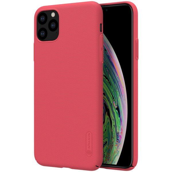 Nillkin Super Frosted Back Cover for iPhone 11 Pro Max Red