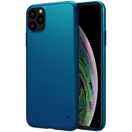 Nillkin Super Frosted Back Cover for iPhone 11 Pro Max Peacock Blue