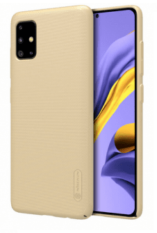 Nillkin Super Frosted Back Cover for Samsung Galaxy A51 Gold