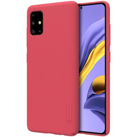 Nillkin Super Frosted Back Cover for Samsung Galaxy A51 Red