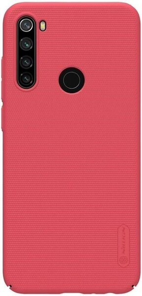 Nillkin Super Frosted Back Cover for Xiaomi Redmi Note 8T Red