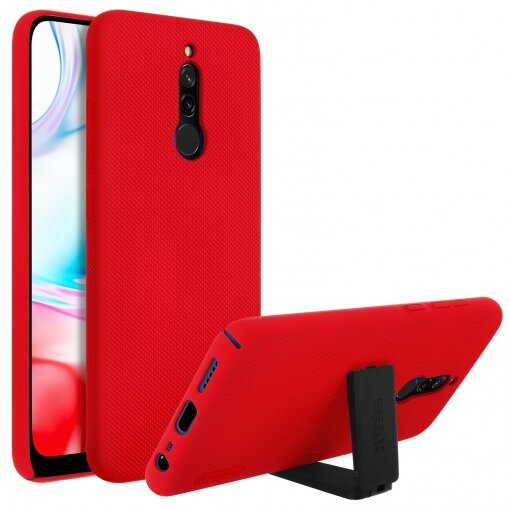 Nillkin Super Frosted Back Cover for Xiaomi Redmi 8 Red