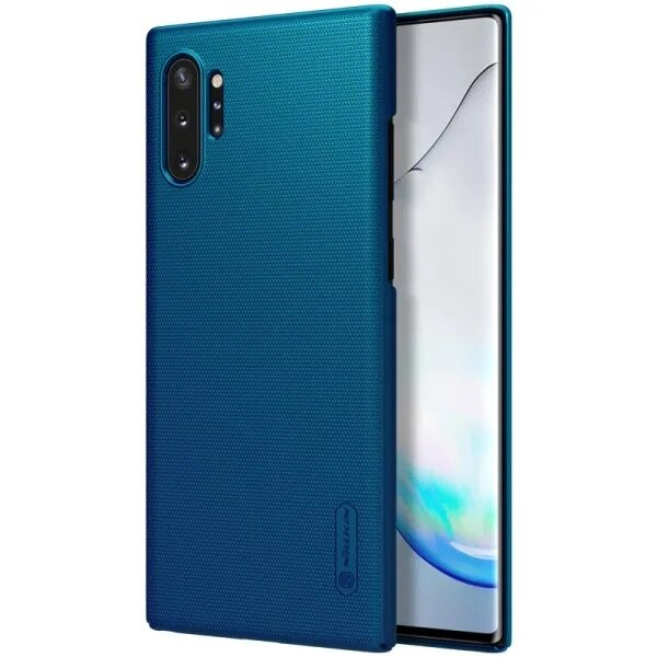 Nillkin Super Frosted Back Cover for Samsung Galaxy Note 10 Peacock Blue