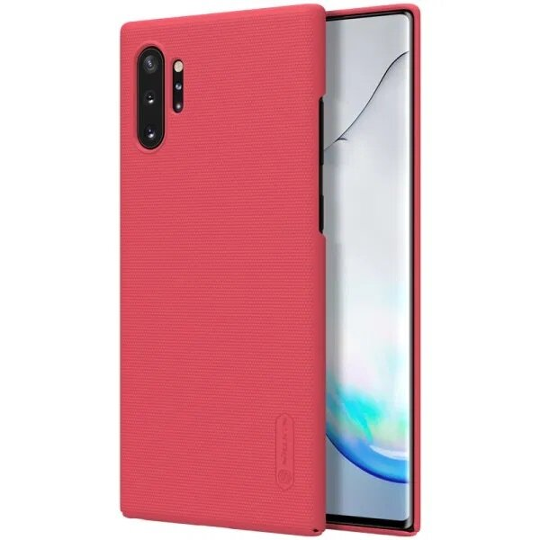 Nillkin Super Frosted Back Cover for Samsung Galaxy Note 10+ Red