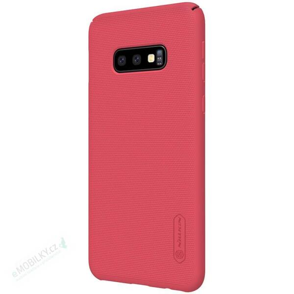 Nillkin Super Frosted Back Cover for Samsung Galaxy S10e Red