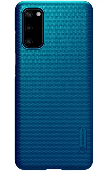 Nillkin Super Frosted Back Cover for Samsung Galaxy S20 Peacock Blue