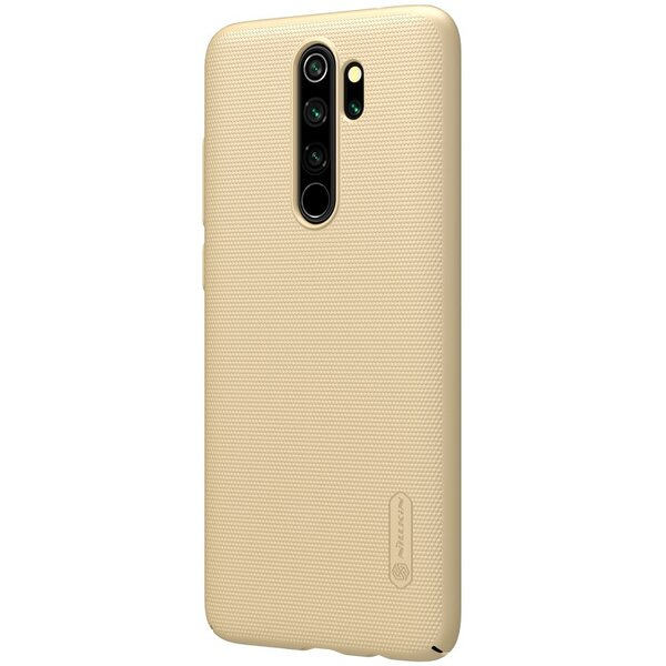 Nillkin Super Frosted Back Cover for Xiaomi Redmi Note 8 Pro Gold