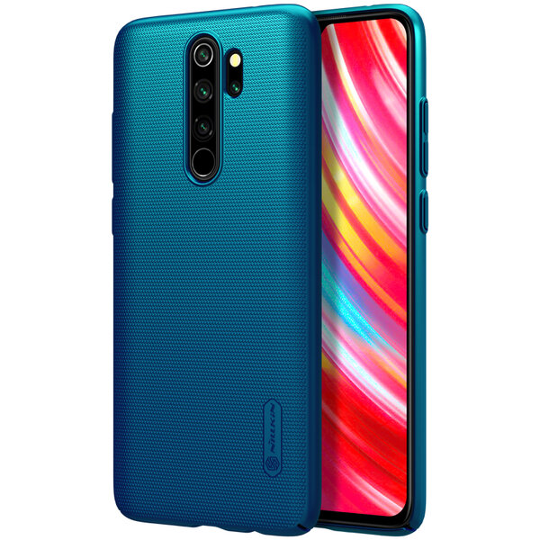 Nillkin Super Frosted Back Cover for Xiaomi Redmi Note 8 Pro Peacock Blue