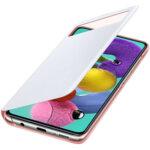 EF-EA715PWE Samsung S-View Case for Galaxy A71 White (EU Blister)