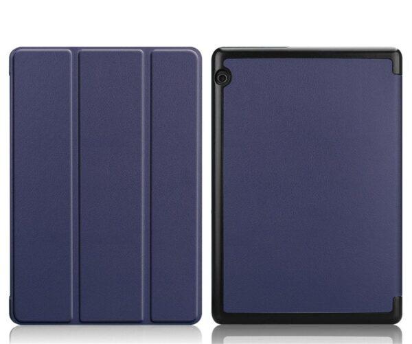 Tactical Book Tri Fold Case for Huawei MediaPad T3 8 Blue
