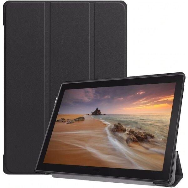 Tactical Book Tri Fold Case for Huawei MediaPad T3 8 Black