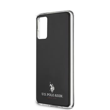 USHCS62TPUBK U.S. Polo Small Horse Cover for Samsung Galaxy S20 Black