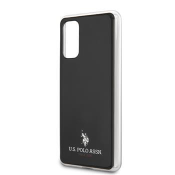 USHCS67TPUBK U.S. Polo Small Horse Cover for Samsung Galaxy S20+ Black