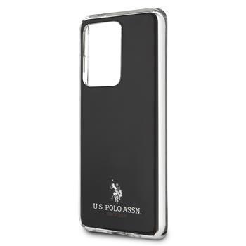 USHCS69TPUBK U.S. Polo Small Horse Kryt pro Samsung Galaxy S20 Ultra Black