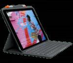 Logitech Slim Folio For iPad 10.2 inch (7th gen) - Black (UK)