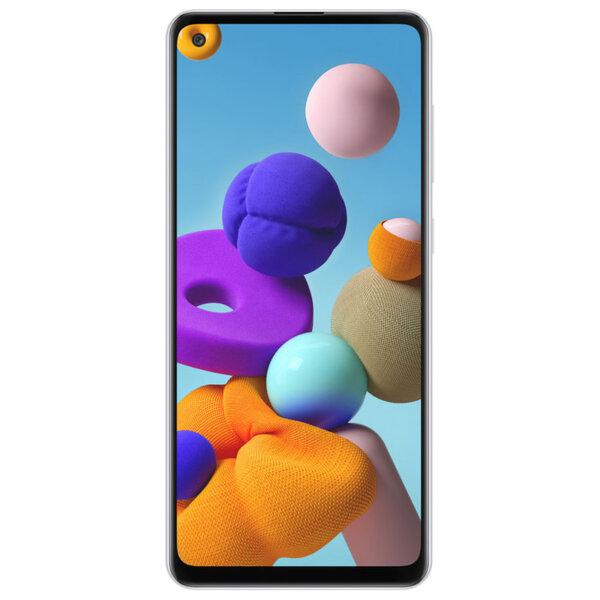 Смартфон Samsung Galaxy A21S, Dual SIM, 32GB, White