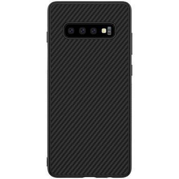 Nillkin Synthetic fiber Гръб за Samsung Galaxy S10 Черен