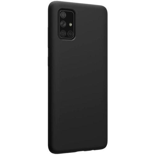 Nillkin Flex Pure Liquid Silicone Cover for Samsung Galaxy A71 Black
