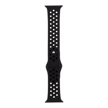 Tactical Sillicone Strap Apple Watch 38mm black sport