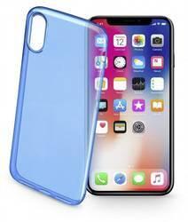 Cellularline COLORCIPH8B Case Apple iPhone X Blue (transparent)