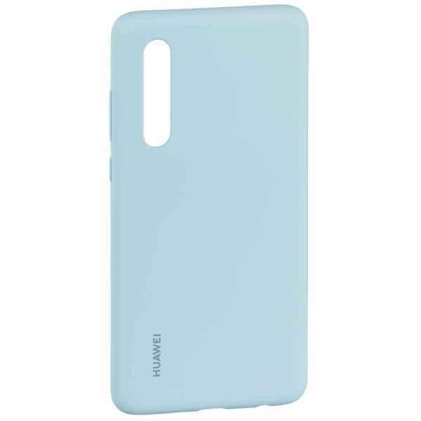 Huawei Original Silicone Car Case Light Blue for Huawei P30 (EU Blister)