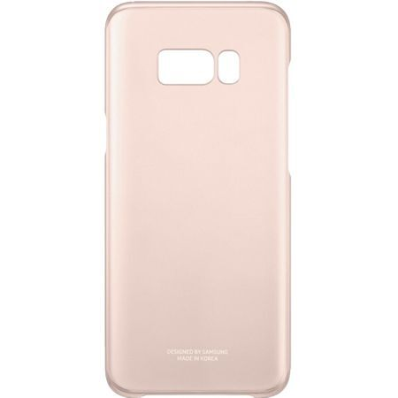 Samsung Galaxy S8 Ultra Thin Protective Clear Cover Case - Gold