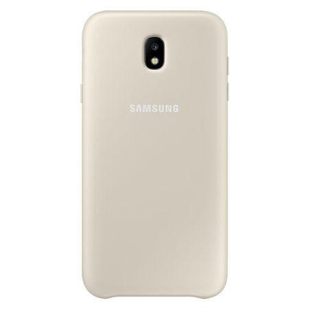 Гръб за Samsung Galaxy J5 (2017), Dual Layer Cover, Gold (EF-PJ530CFEGWW)