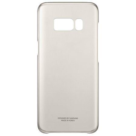 Official Samsung Galaxy S8+ Gold Clear Cover - EF-QG955CFEGWW