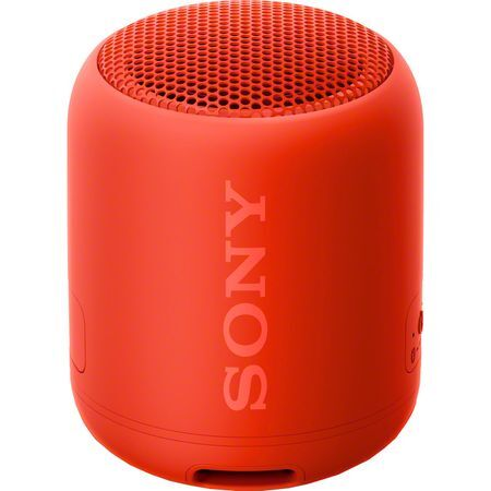 SONY EXTRA BASS SRS-XB12 Portable Bluetooth Speaker - Red