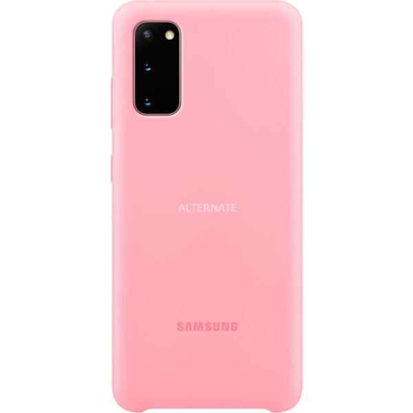Samsung Galaxy S20 Silicone Cover Case - Pink