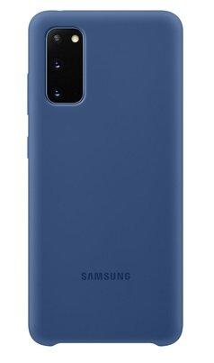 Samsung Galaxy S20 Silicone Cover Case - Navy