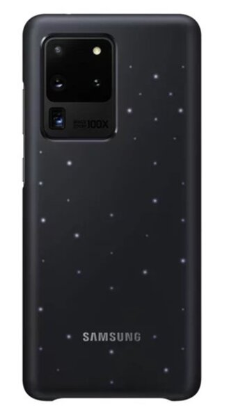 Samsung LED Cover Galaxy S20 Ultra 5G (SM-G988), schwarz