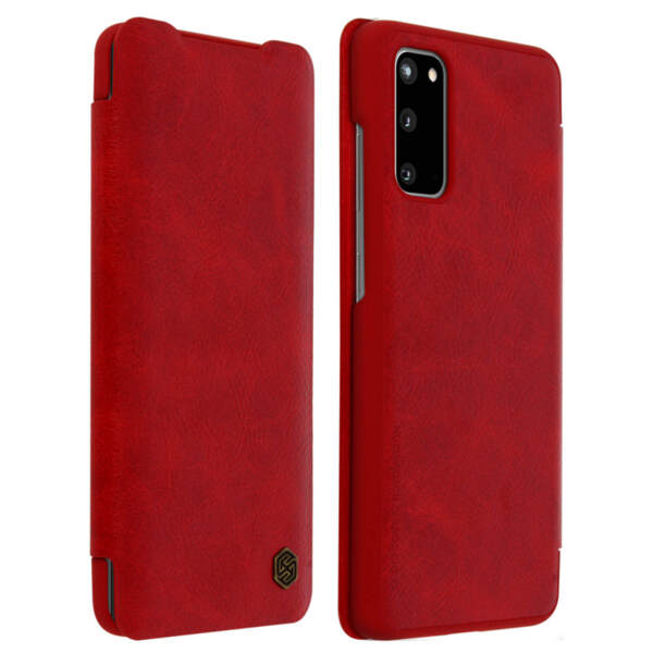 Nillkin Qin Book Case for Samsung Galaxy S20 Red