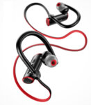 USAMS S4 Sport Stereo Bluetooth Headset Black-Red