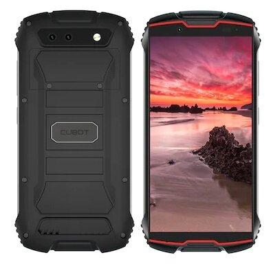 Cubot King Kong Mini Dual SIm, 32GB 3GB RAM, Black Red