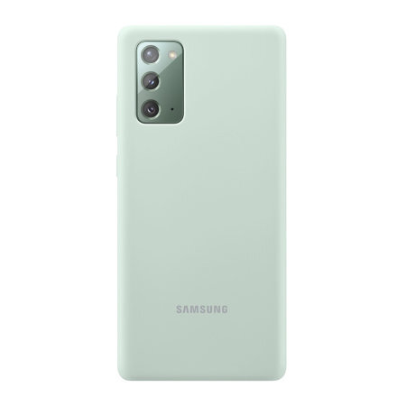 Калъф от Samsung Silicon Cover pro N980 за Galaxy Note 20 Mystic Green