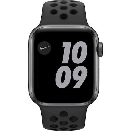 Смарт часовник Apple Watch Nike SE, GPS, Корпус Space Gray Aluminium 40mm, Anthracite/Black Nike Sport Band