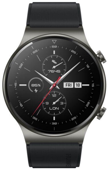 Смарт часовник Huawei WATCH GT2 Pro Sport 46.7mm, Vidar-B19S, Black