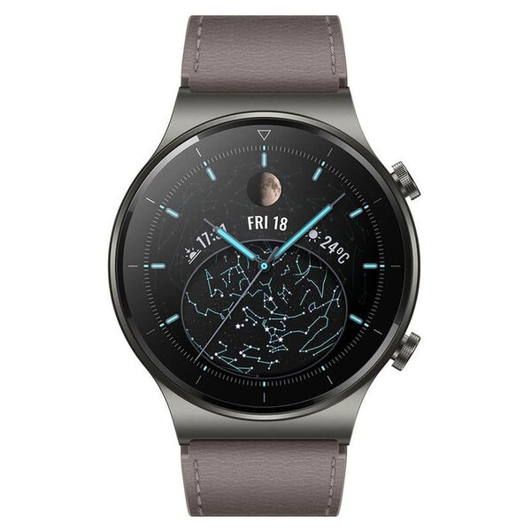 Смарт часовник Huawei WATCH GT2 Pro Classic 46.7mm, Vidar-B19V, Gray