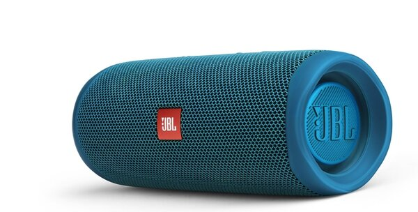 JBL Ocean Eco Blue Flip 5 Portable Bluetooth Speaker