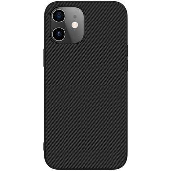 Калъф от Nillkin Synthetic Fiber Protective Hard Case за iPhone 12 mini  Black